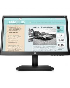"Monitor LED HP V190 2NK17AA#ABM 19"" (18.5"") Widescreen HD 720p Color Negro VGA 1366x768"