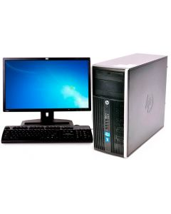 "COMPUTADORA HP REFURBISHED OPC25 PROCESADOR INTEL CORE i7 2.9Ghz 2nd Gen,CPU TORRE,MEMORIA RAM 8GB,500GB DISCO DURO,Quemadora CD/DVD,Teclado,Mouse,Windows 7,Monitor LCD 19"" Widescreen Varias Marcas"