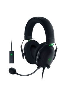 Audifonos Multiplataforma para eSPORTS GAMING RAZER BLACKSHARK V2 RZ04-03230100-R3U1 Color Negro,para PC Gaming/Mac/PS4/Xbox One/Nintendo Switch/Smartphone,con Audio Espacial THX(solo para PC),Conexión 3.5mm+ Tarjeta de Sonido USB,con Micrófono cardioide