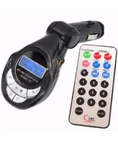 MP3 para Carro MATSUI MS-MOD312 Lector USB y SD, Auxiliar 3.5mm con control Colores Varios
