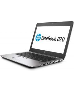 "Notebook Seminueva 12.5"" HP EliteBook 820 G3,Intel Core i5-6300U 2.4Ghz(Max.3.0Ghz) 3MB 6ta Generacion, Ram 8GB DDR4,Estado Solido 256GB M.2,No DVD,Wi-Fi,Bluetooth,RJ45,Graficos Intel UHD"
