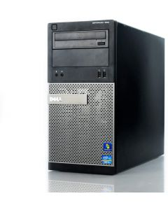 CPU OPC23 DELL OPTIPLEX 390 TORRE REFURBISHED, PROCESADOR INTEL CORE i3 2.9Ghz,MEMORIA RAM 4GB,250GB DISCO DURO,Quemador DVD
