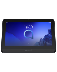 "Tablet ALCATEL SMART TAB 7"" 8051  Ideal para Niños,Color Negro,con Soporte Incorporado,Quad Core 1.3GHZ,Android 9 Pie,Alm.16GB,Exp.128GB,Ram 1.5GB,Camara 2MP,Camara Frontal 2MP,Bateria 2580mAh,WiFi,Modo Proteccion de los Ojos Altavoces Duales"