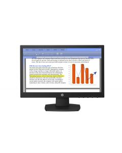 "Monitor LED HP V194 V5E94AA#ABM 19"" (18.5"") Widescreen HD 720p Color Negro VGA 1366x768"