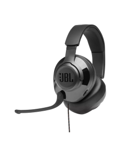 Audifonos Multiplataforma GAMING JBL QUANTUM 200 para PS4/Xbox One/Nintendo Switch/PC Gaming/Smartphone/MAC,con Audio de Firma JBL QuantumSOUND Signature, Cable 1 Plug 3.5mm para Consolas(incluye adaptador a 2 PLUGs Audifono/Microfono para PC)