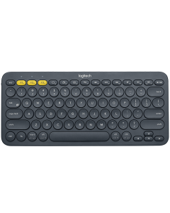 Mini Teclado Multidispositivos Bluetooth LOGITECH K380 920-007562 para Windows,Mac,Chrome OS™, Android™,iOS,Apple TV, con Switch para Intercambiar hasta entre 3 dispositivos,hasta 2 años de uso con un par de baterias AAA,Español