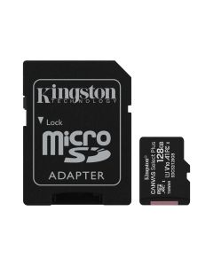 Memoria CANVAS Select PLUS Micro SD 128GB Kingston Clase 10 100MB/s 1 Adap