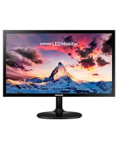 "Monitor LED SAMSUNG SuperSlim LS22F350FHLXZP 22"" (21.5"") Widescreen HD 1080p Negro VGA/HDMI 1920x1080, con Flicker Free y Eye Saver(pantalla anti-parpadeo y Descanso Visual"
