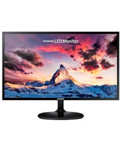 "Monitor LED SAMSUNG SuperSlim LS24F350FHLXZP 24"" (23.5"") Widescreen HD 1080p Negro VGA/HDMI 1920x1080"