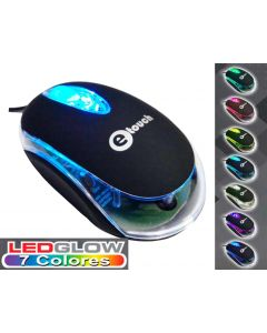 Mouse USB Etouch M-1009 Optico Colores Varios