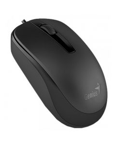 Mouse Genius RS DX-120 Color Negro 1200dpi USB
